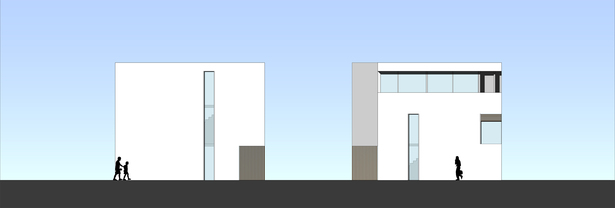 East Elevation + West Elevation