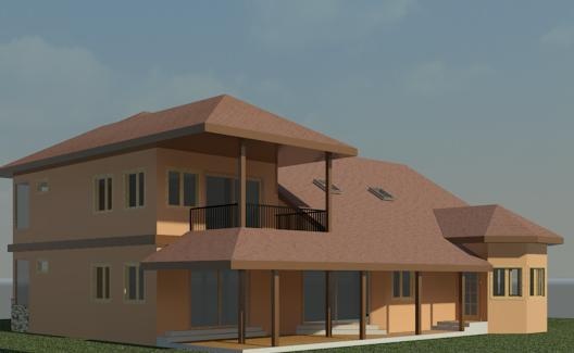 Back View (Conceptual Rendering)