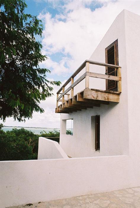 Main house balcony