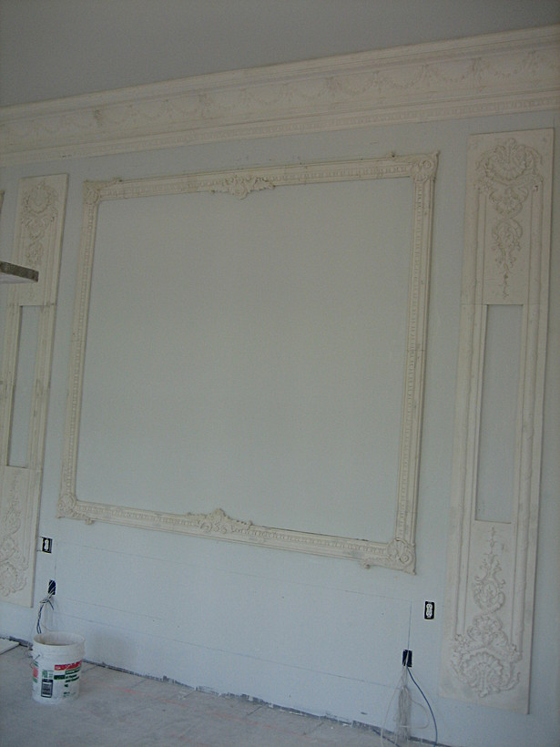 Master ber room main wall