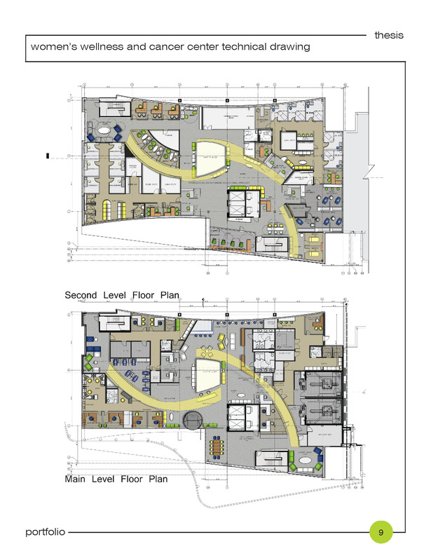 entry and seceond level floor plans