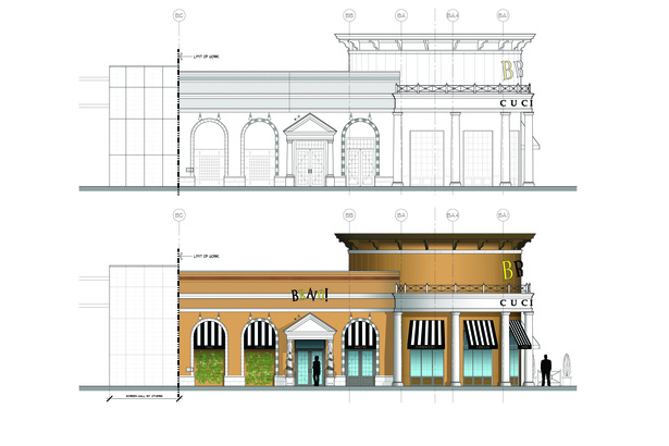 West Elevation Rendered
