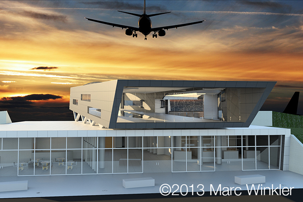 Revit Rendering ©2013 Marc Winkler
