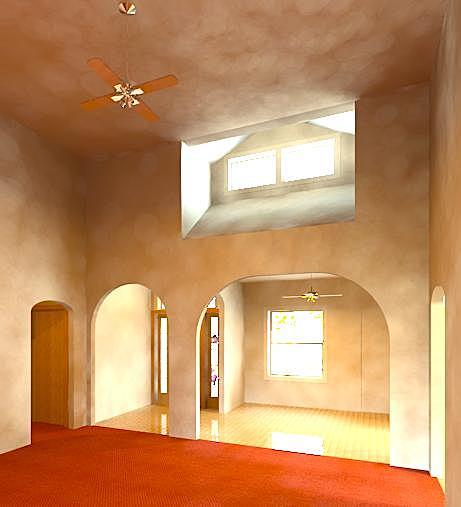 Conceptual Interior rendering