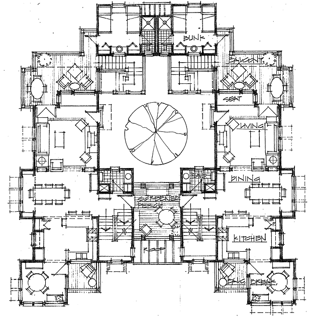 SECOND FLOOR- ORIGINAL CONCEPT