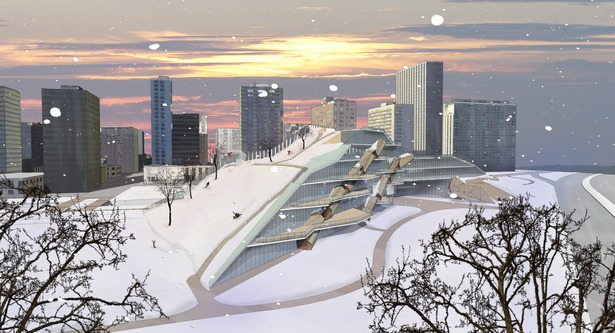 Snow Render of Exterior