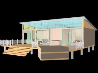 Viz Model of Low Income Housing Container Home