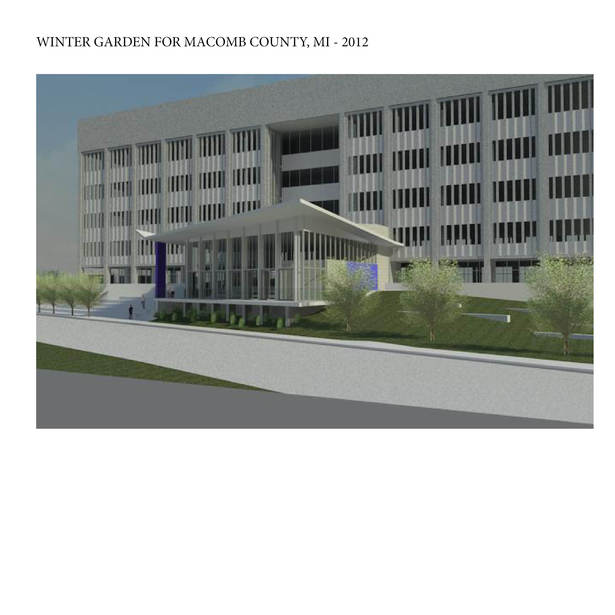 Winter Garden for Macomb County MI, Still Under Development