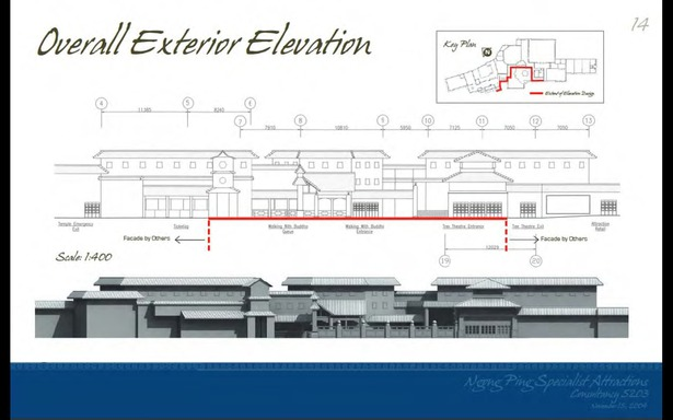 Schematic Design - Overall Exterior Elevation