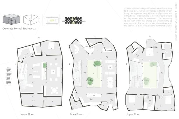 Floor Plans + Parti