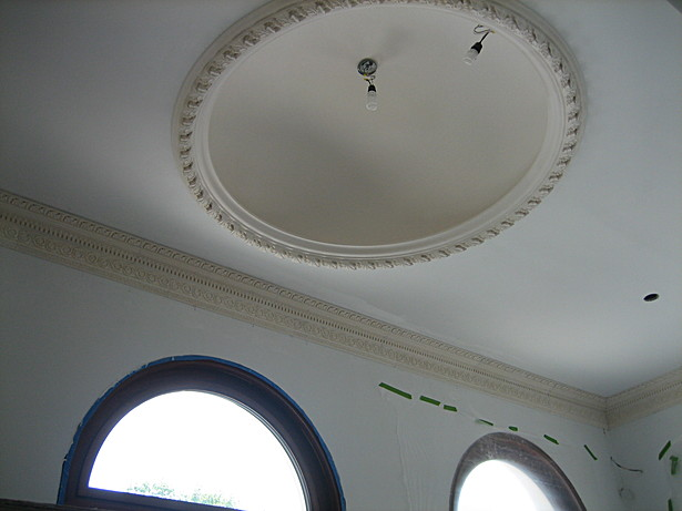 Entrance lobby ceiling