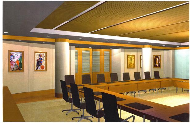 Commonfund Boardroom Rendering