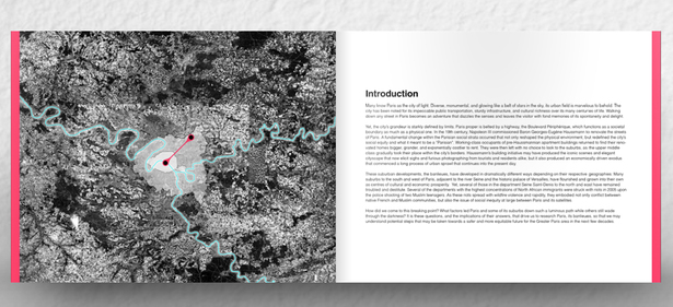 Research book on Parisian Urbanism