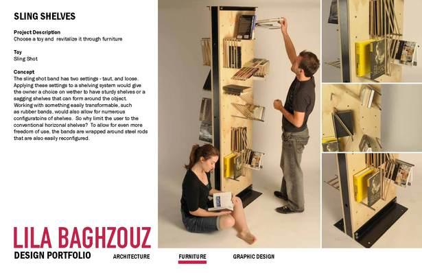 sling shelves