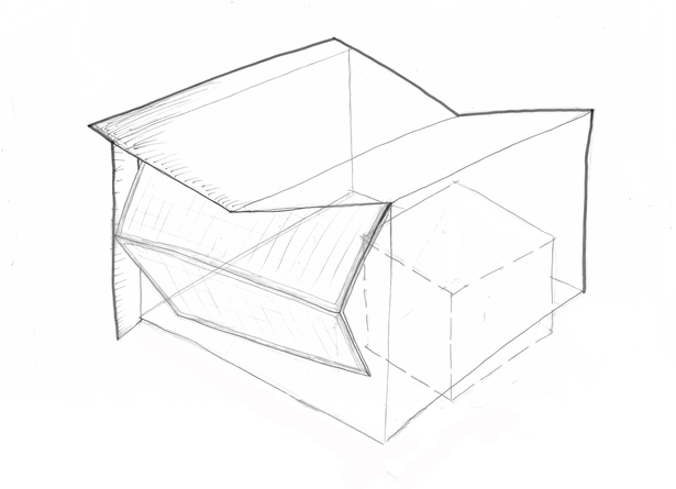 Parti Model Drawing