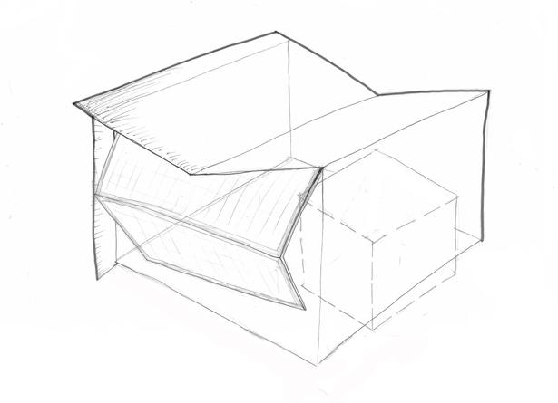Parti Model Drawing