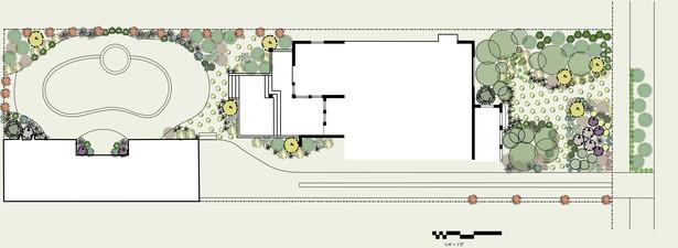 Site planting plan