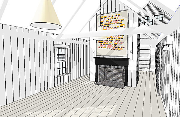 Long Room (SketchUp)