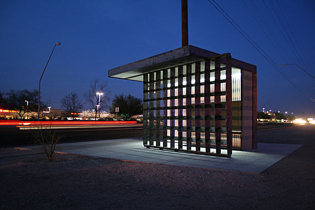 north-facing shelter / corrugated steel