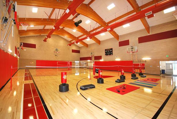Interior gym