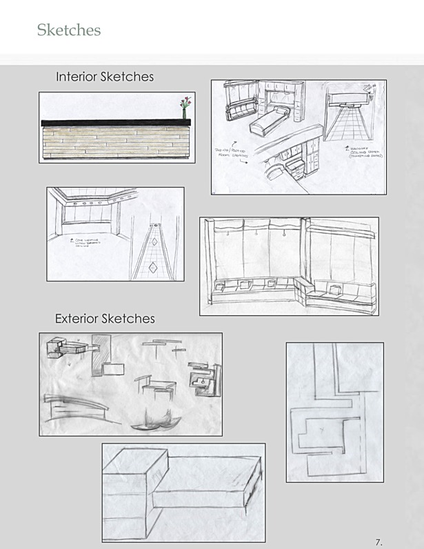 Design Development - Sketches
