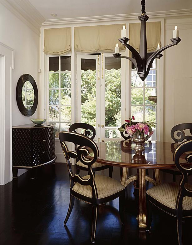 Dining room window.
