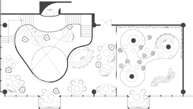 second floor plan (AutoCAD)