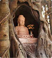 Buddha in the Bohdi Tree
