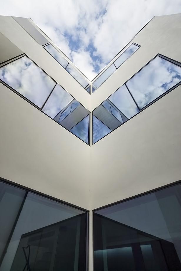 back façade