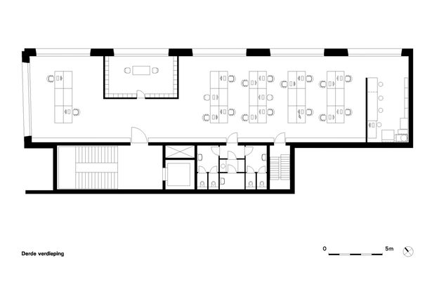Claus en Kaan Architecten / Third Floor plan