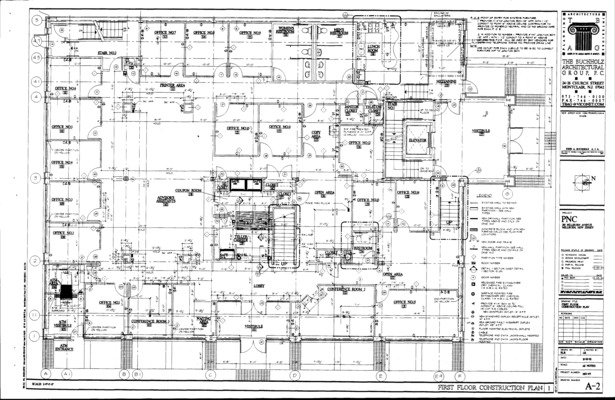 First floor architectural plan