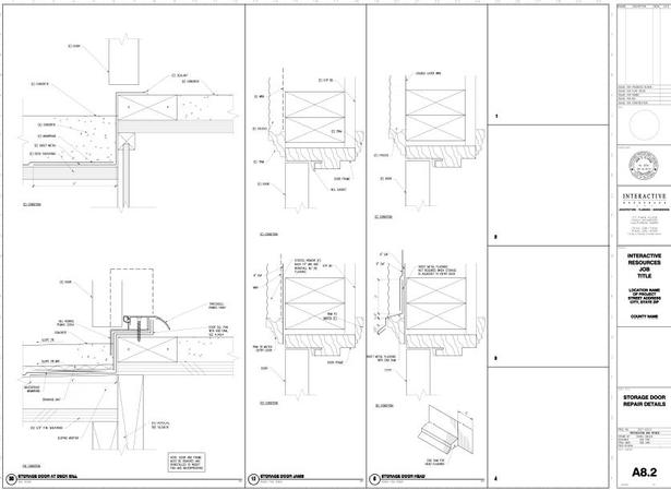 Construction drawings built