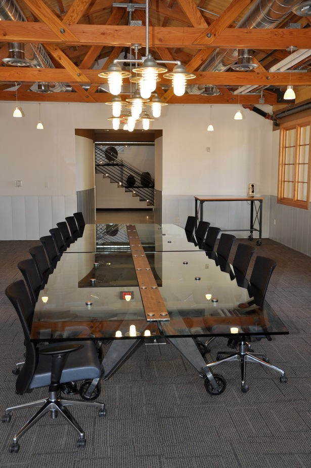 Steel Beam Conference Table