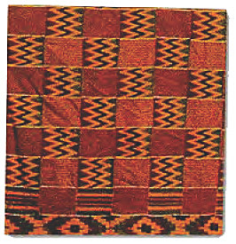 Kente Cloth Pattern