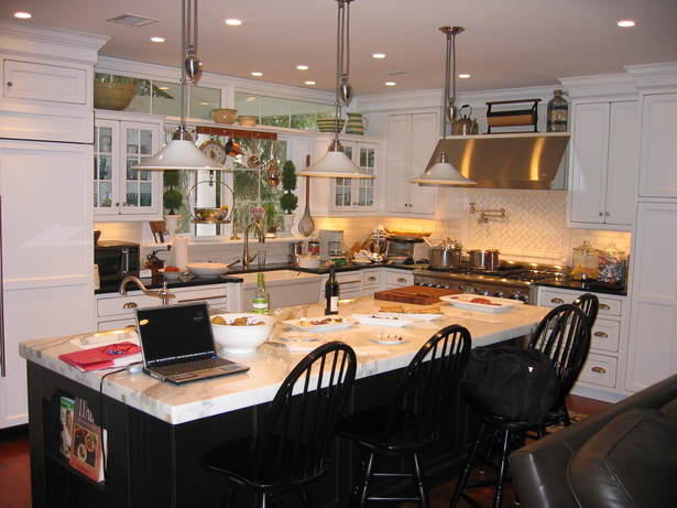 Expanded open plan kitchen/family room