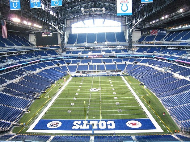 View of Bowl toward the South End Zone