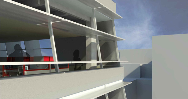 Exterior Facade Perspective