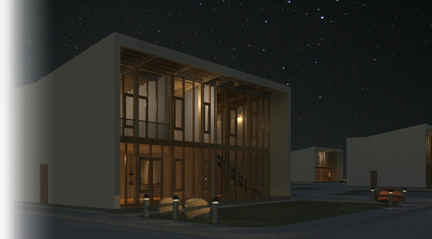 Revit Night Rendering