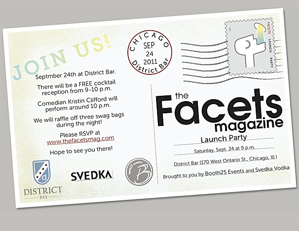 Magazine Launch Party Invitation