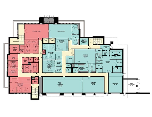 Schematic First Floor
