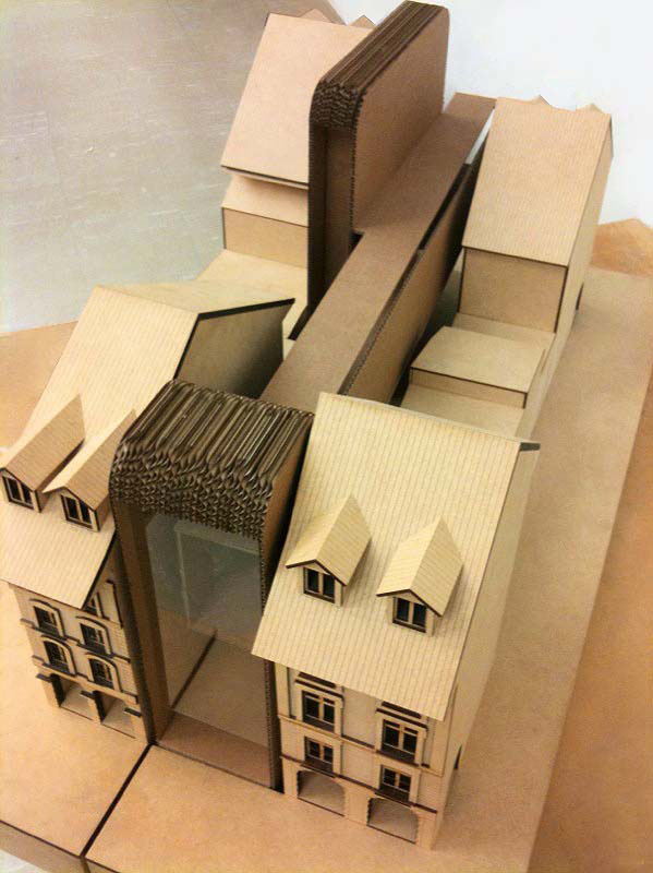 Model_Rough Sketch Model On Site