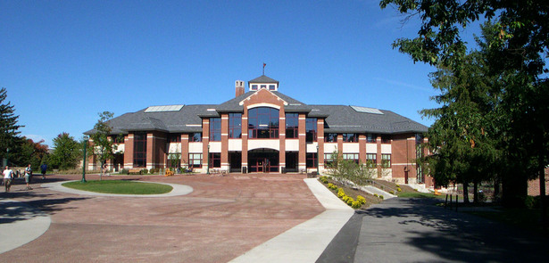 St. Lawrence University - Student Center (Image: MCF Architects)