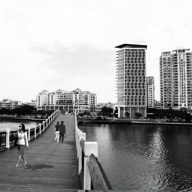 View from Sanya River