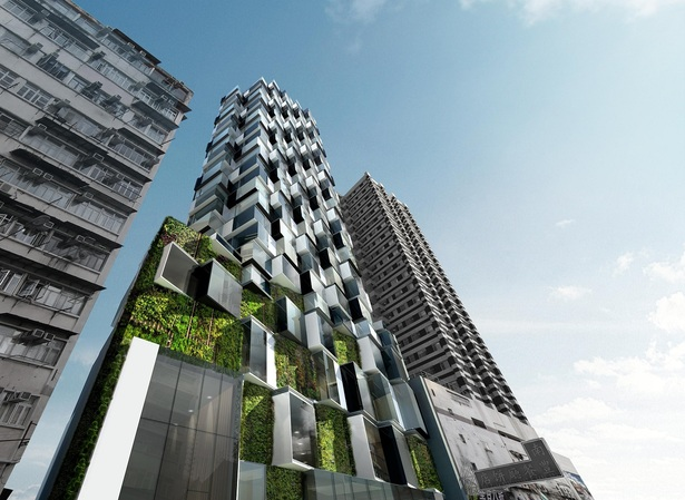 Composite Building on Sai Yee Street by Aedas
