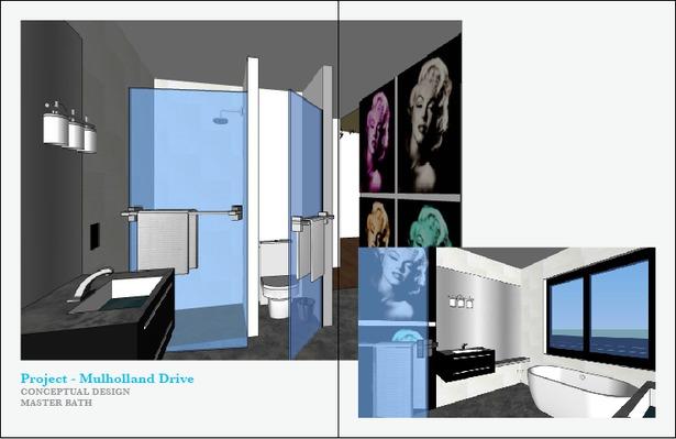 Conceptual Design Master Bath