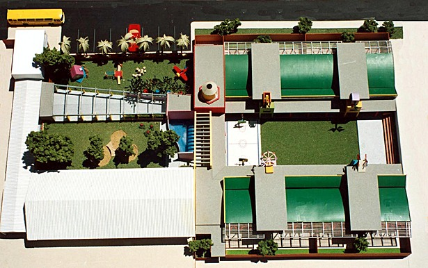 Site plan model
