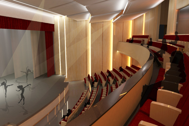 Auditorium Rendering