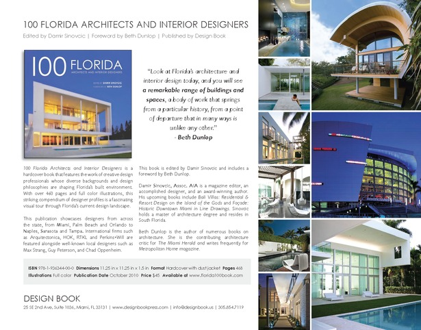 100 florida architects and interior designers the weber for Architecture companies in florida