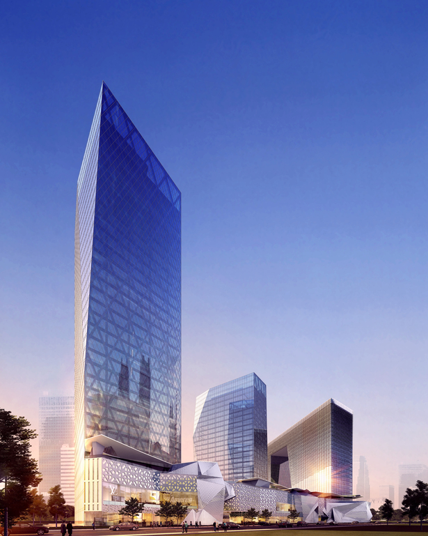 China Charcoal Resort Hotel and Corporate Headquarters masterplan, Zhuhai, China