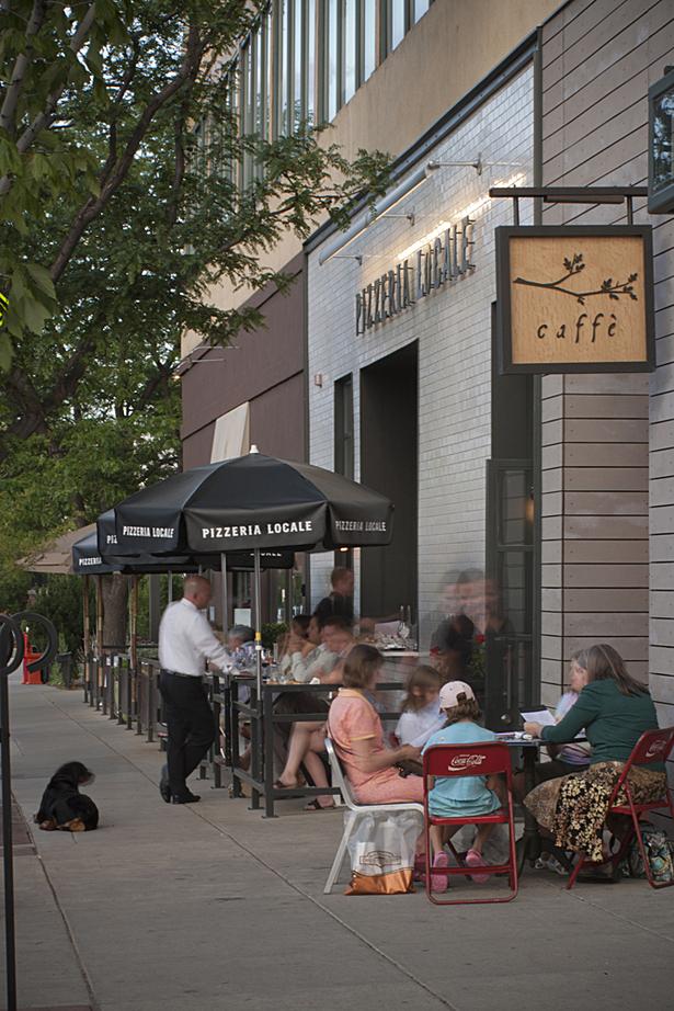 Pizzeria Locale + Caffe Streetscape